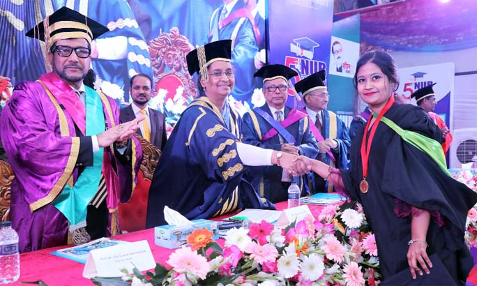 NUB holds 5th Convocation