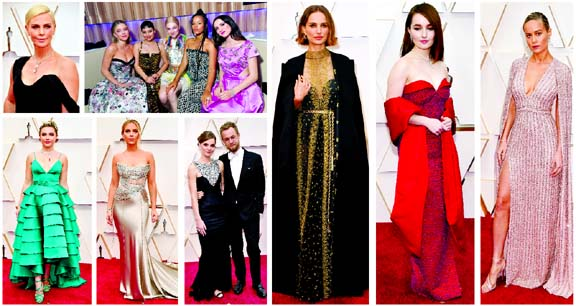 Celebrities at Oscars 2020
