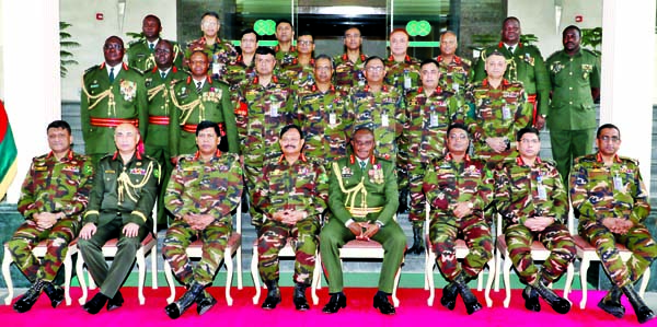 Zambian  Army Commander meets BD Army Chief