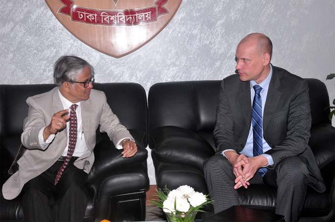 FAO Country Representative calls on DU VC