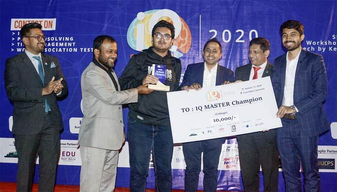 'IQ master 2020' held in port city