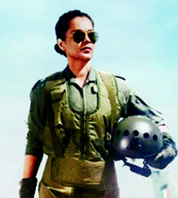 Kangana is on fire as an IAF pilot in Tejas first look