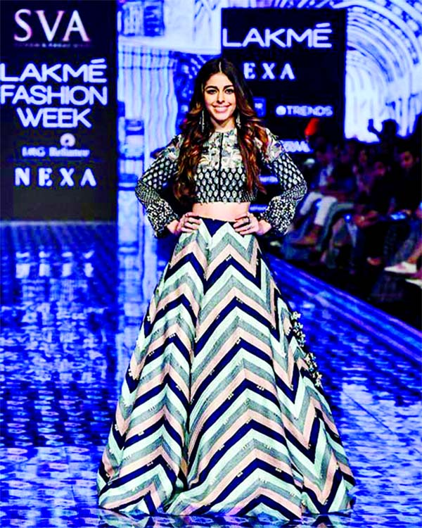 Alaya F sets the runway on fire at Lakme Fashion Week