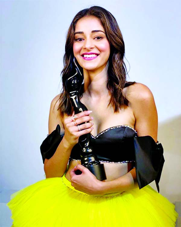 Ananya Panday bags Filmfare for 'Best Debut'
