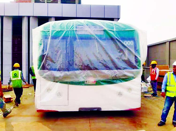 Metro rail mock-up coach to display on March 17