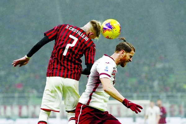 AC Milan eye Euro spots after Torino win