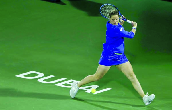 Battling Clijsters loses first match in tennis comeback