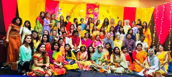 Pohela Falgun celebration at AUW