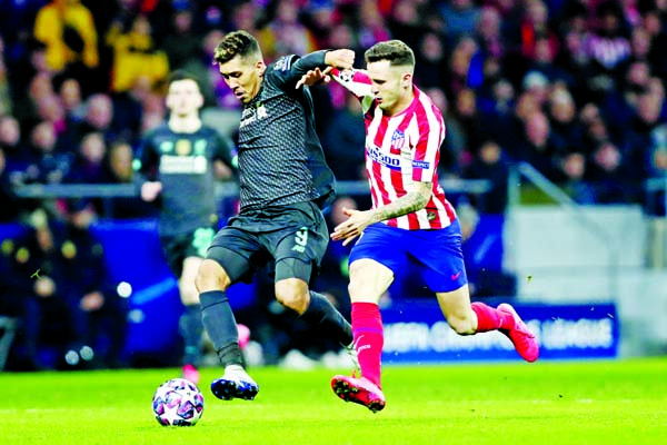 Atletico Madrid edge Liverpool 1-0 in Champions League