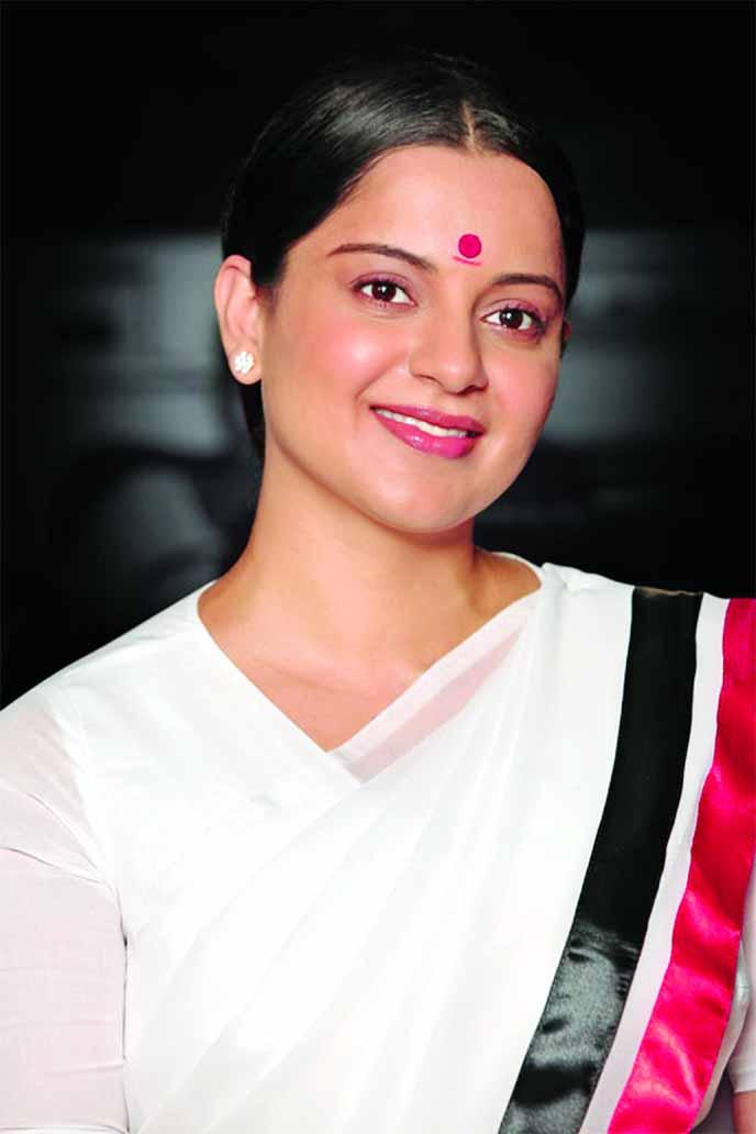 Kangana Ranaut's new look from Thalaivi revealed