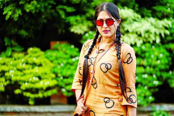 Purnima Brishti busy with acting, modelling