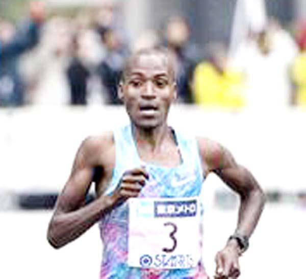 Kenyan Chumba eyes Tokyo marathon title