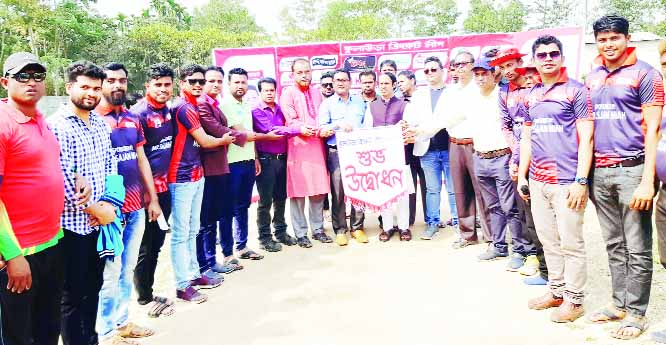 KULAURA (Moulvibazar): The inaugural programme of Kulaura Cricket League was held at Sonar Bangla Jubo Sangho at Alalpur organised  by Md  Shahjan Mia on Sunday.