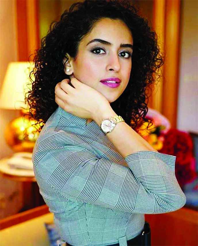 Sanya Malhotra feels ecstatic for having a working birthday