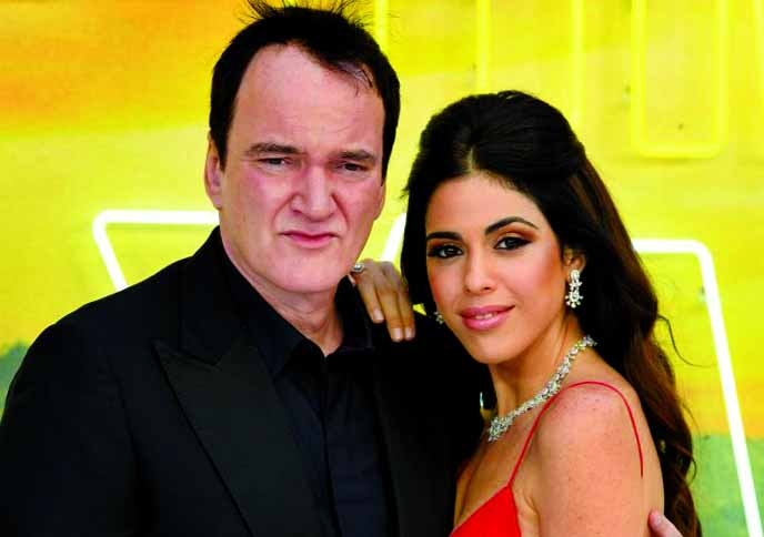 Quentin Tarantino, wife Daniella welcome their first child together