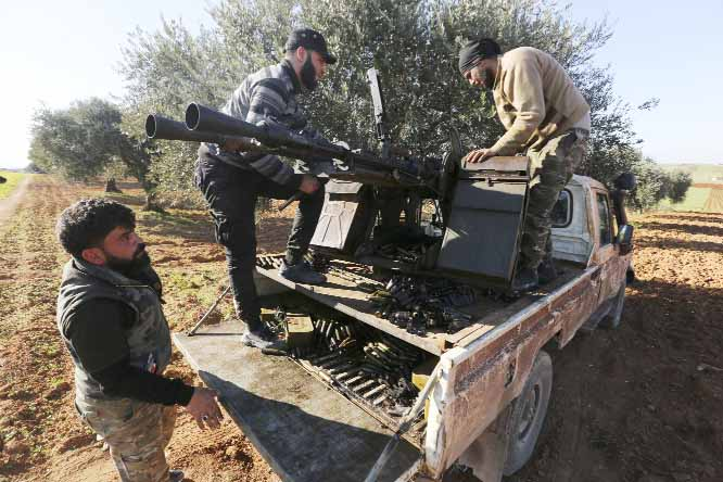 Syrian opposition fighters retake key town from government