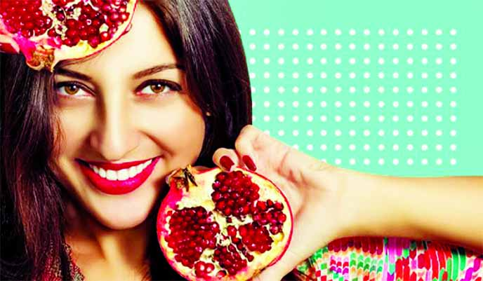 How add pomegranate in beauty regime