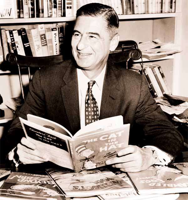 Cartoonist, writer Dr Seuss