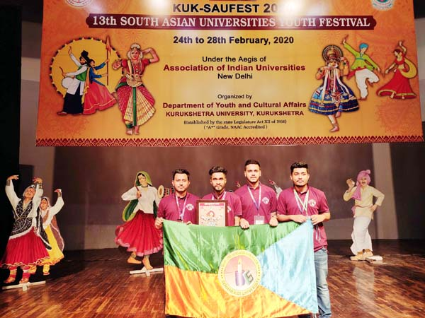SEU students at 13 SAUFEST in India