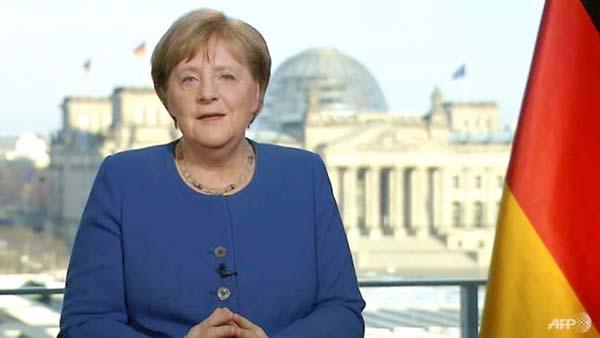 Merkel calls coronavirus 'biggest challenge since WW2'