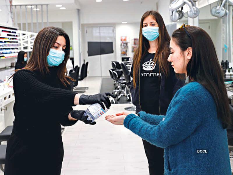 Salons, customers take extra precautions amid #CoronaScare