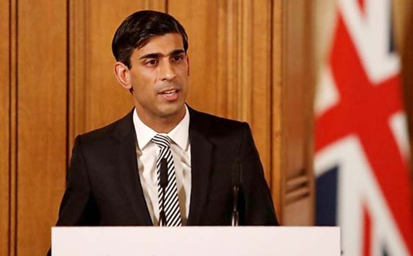 UK govt to pay 80 pc workers' wages in virus crisis: Rishi Sunak