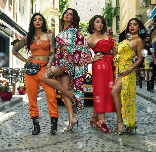 The ladies of Amazon Prime's Four More Shots Please! Season 2