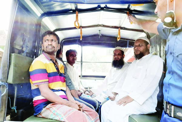 BHOLA: Four businessmen  were arrested at Borhanuddin Upazila by mobile  court for price-hike of essentials on  Friday.