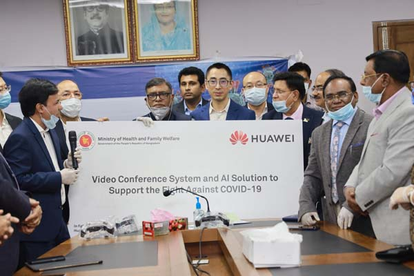 Huawei donated AI solution to BD to combat COVID-19