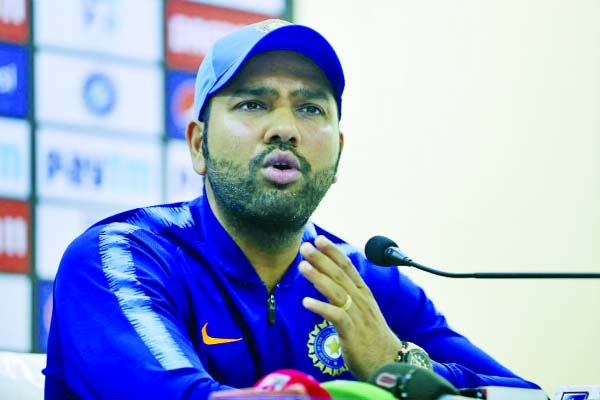 Rohit Sharma donates Rs 80 lakh to get India 'back on its feet'