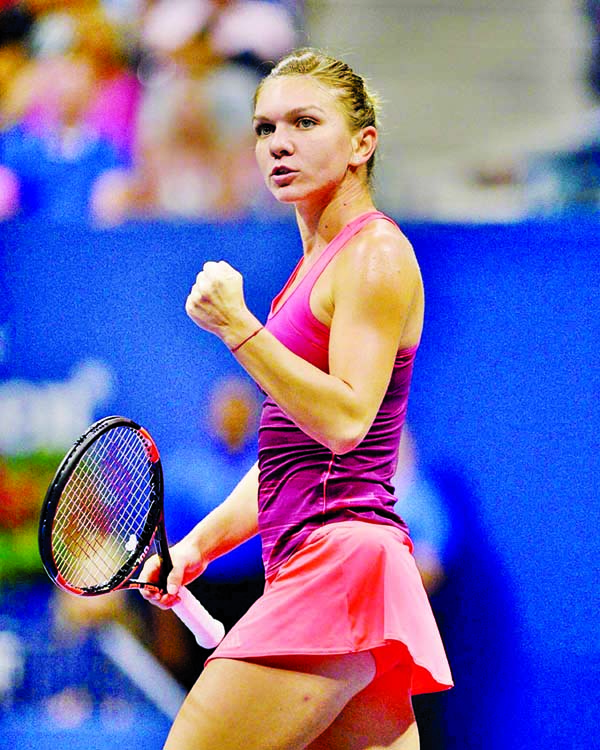 Halep says foot injury improving as tennis remains on hold