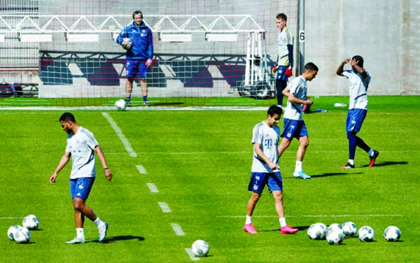 As Bundesliga clubs resume training, a debate over fairness and fitness