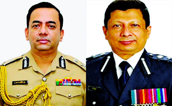 Benazir  new IGP, Al-Mamun DG of RAB