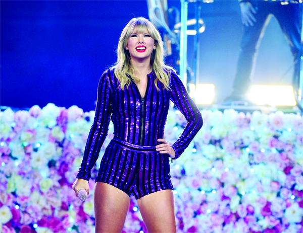 Taylor Swift calls release of old songs 'shameless greed'