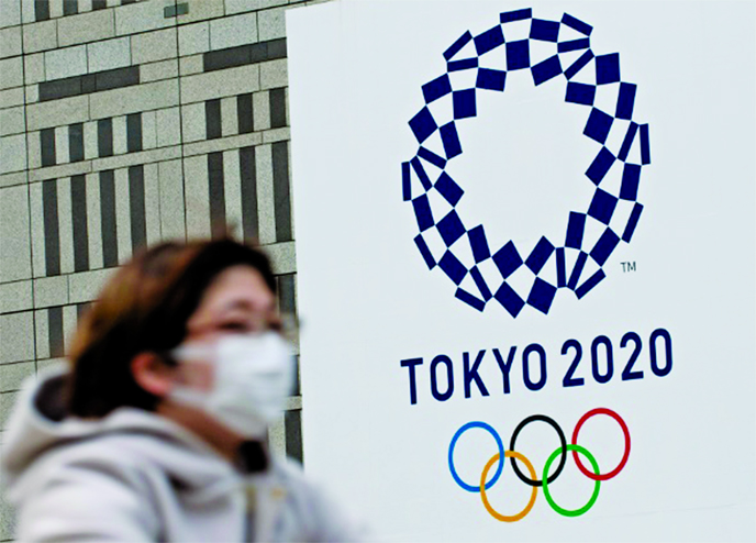 Olympics official see 'real problems' in holding Games in 2021