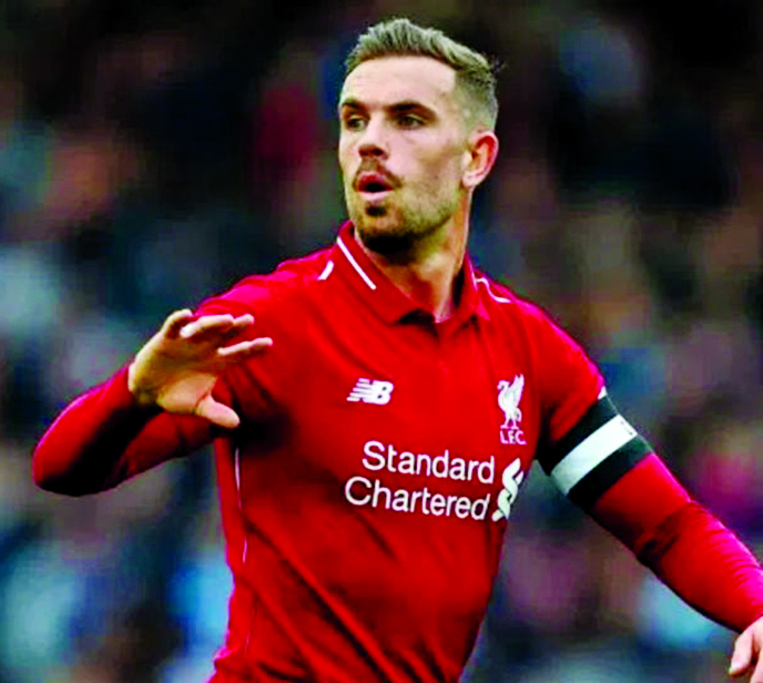 Henderson feels 'safe' after returning to Liverpool training