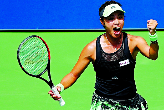 China`s Wang Qiang enjoying time without professional tennis