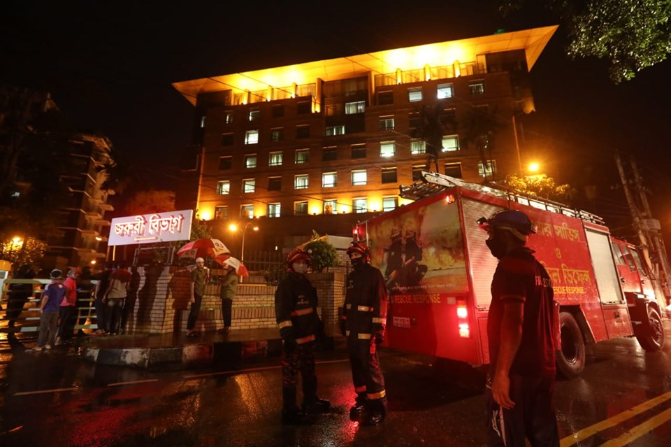 Fire kills five patients at coronavirus unit of United Hospital