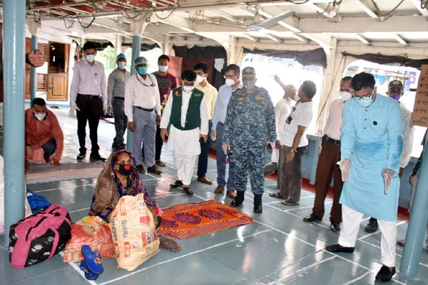 6 disinfectant tunnels installed at Sadarghat: State Minister