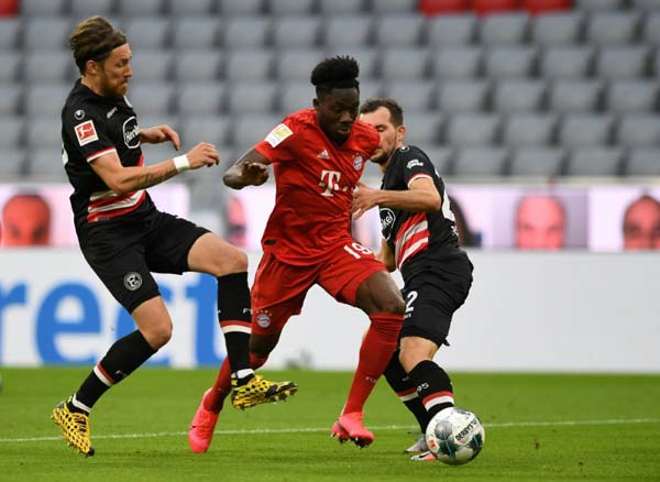 'Road Runner' Davies dazzles as Flick betters Guardiola's Bayern record