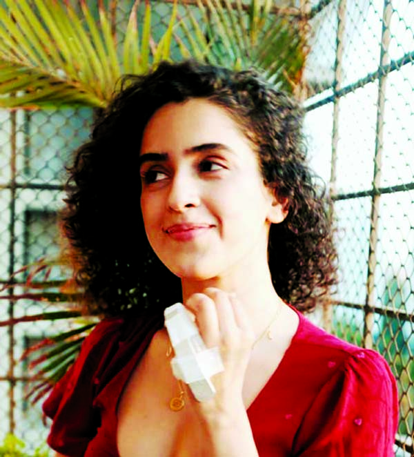Sanya Malhotra injured herself during the lockdown