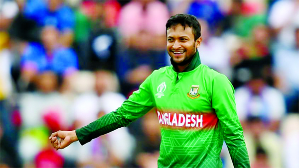 Shakib included cricinfo's best ODI squad