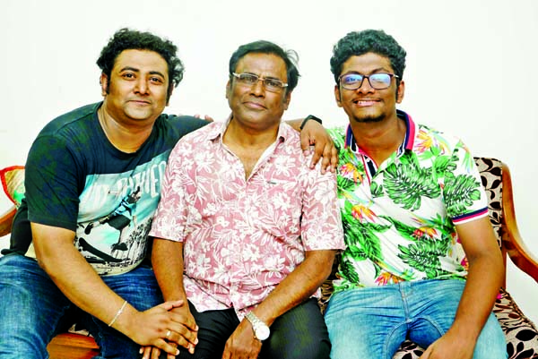 Three  of a family in Nazrul song for first time