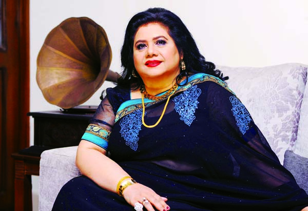 Runa Laila getting response for her composed two songs