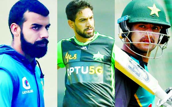 Three Pakistan cricketers test positive for coronavirus