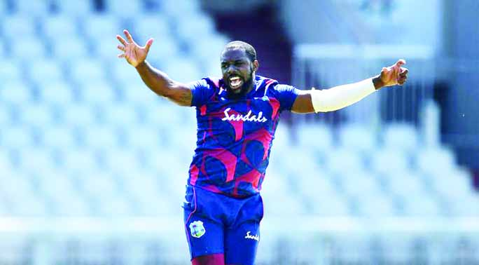 Reifer takes 5 wickets from 11 balls in Windies warm-up