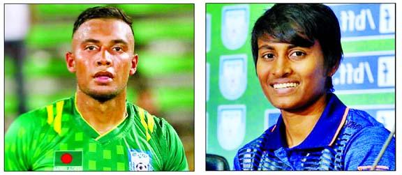 Jamal Bhuiyan & Sabina Brand Ambassadors of grassroots level football