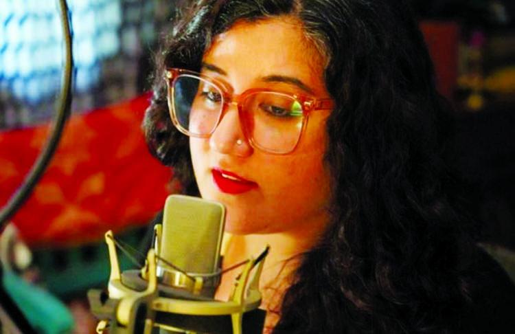 Woman who has become India's 'corona voice'