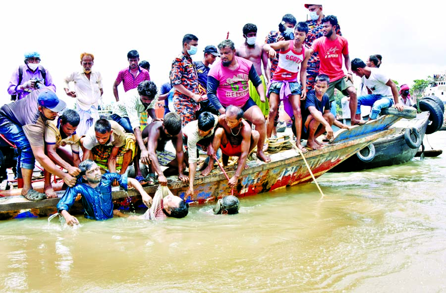 Many more feared drowned: Rescue operation on: Probe body formed
