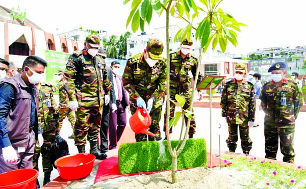 Army Chief inaugurates tree plantation prog
